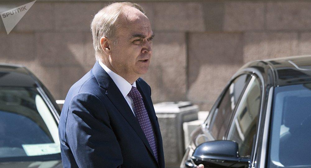 Anatoli Antónov, el embajador ruso en Washington (archivo)