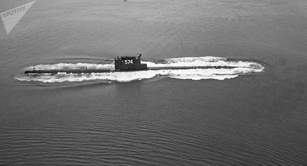 Submarino K-129 de la flota del Pacífico