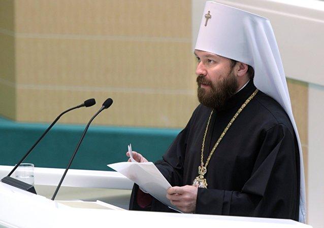 El metropolita Hilarión de Volokolamsk