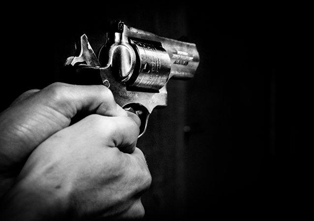 Un revólver (imagen referencial)