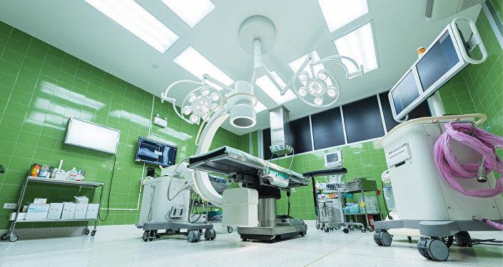 En un hospital