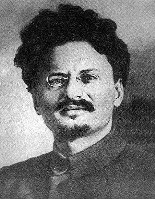 Retrato de León Trotsky