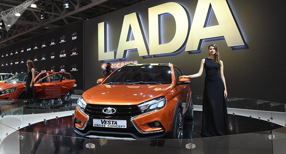 Lada Vesta, coche de la producción rusa