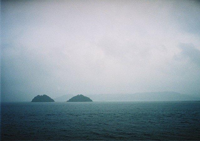 Las aguas cerca de la prefectura de Nagasaki, Japón (imagen referencial)