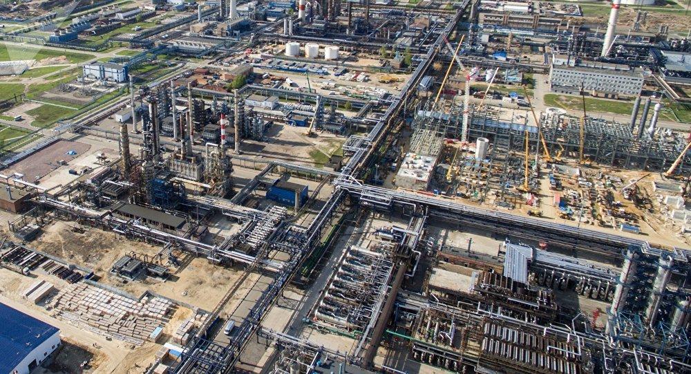 Refinería de petróleo en Rusia (imagen referencial)