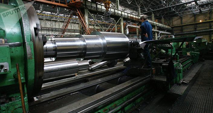 Planta de producción de maquinaria pesada (archivo)