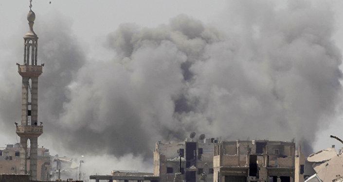 Situación en la ciudad siria de Al Raqa