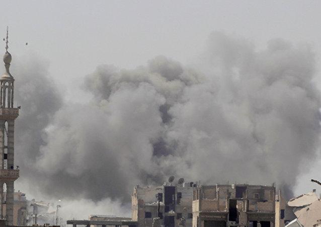 Situación en la ciudad siria de Al Raqa (archivo)