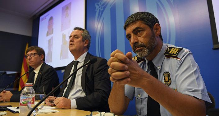 Josep Lluís Trapero, el comisario jefe de la Policía catalana
