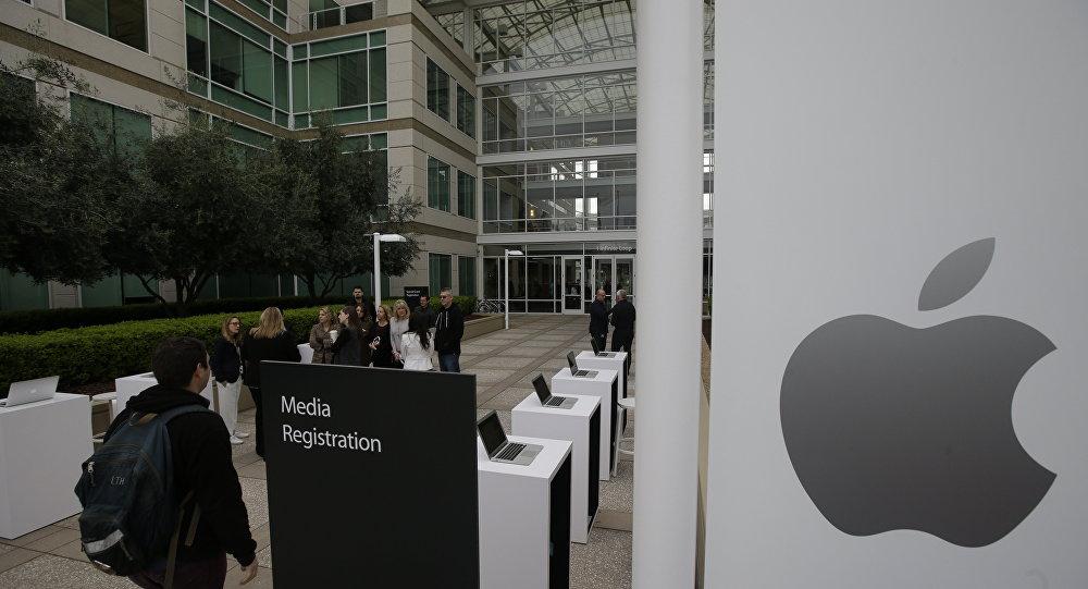La sede de Apple en EEUU (archivo)