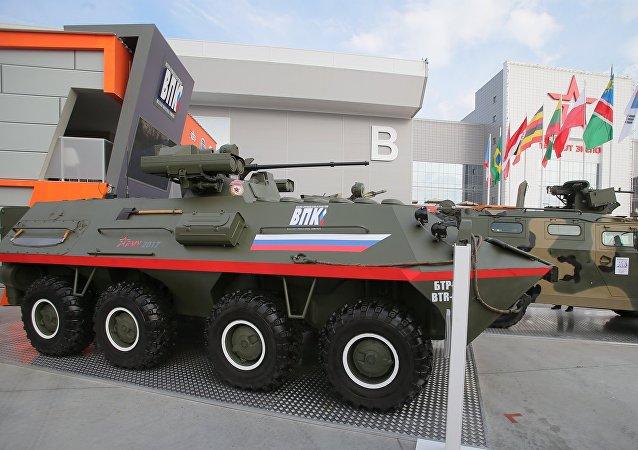 El vehículo blindado BTR-87