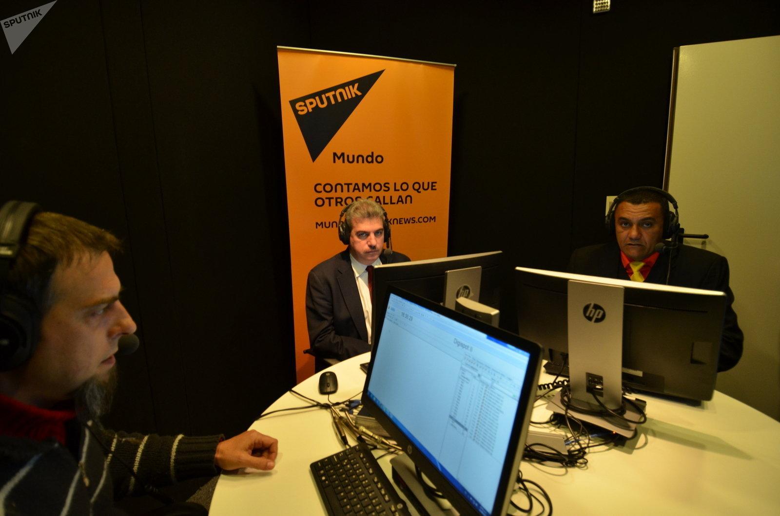 Sputnik recibió en sus estudios a William Pérez y Yul Jabour, diputados de la Asamblea Nacional y representantes venezolanos del Parlasur