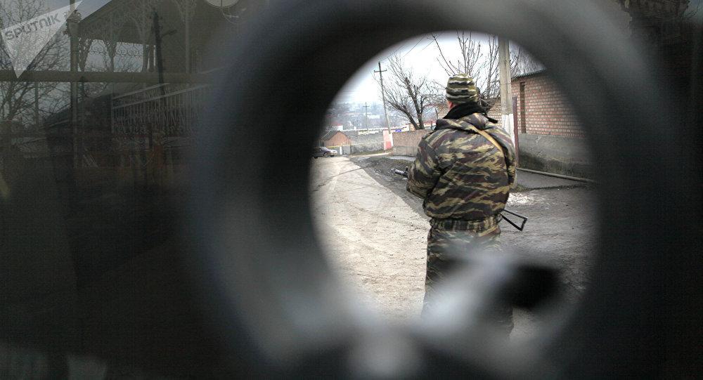 Una operación antiterrorista en Ingusetia (Archivo)