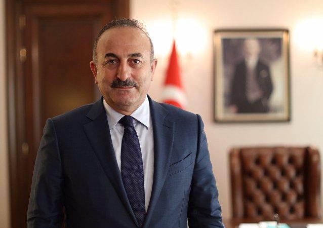Mevlut Cavusoglu, el ministro de Exteriores de Turquía