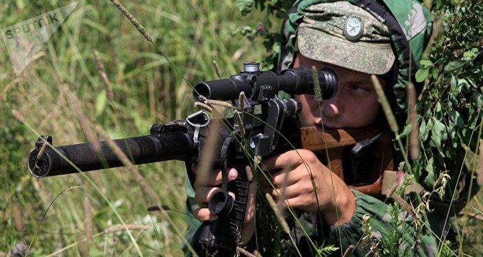 Un soldado ruso