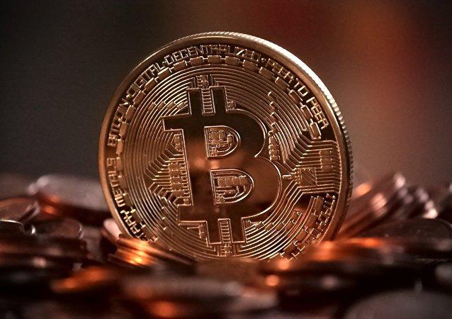 Un bitcoin (imagen referencial)