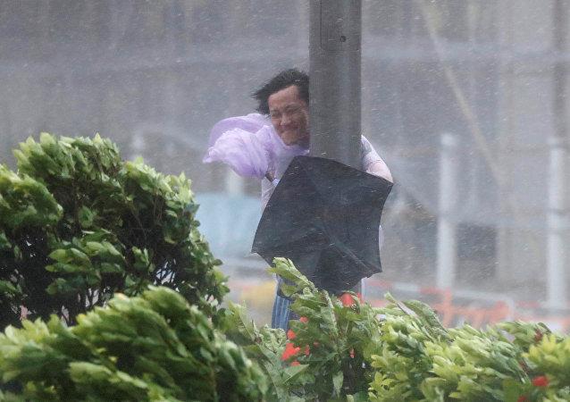 Tifón Hato en China