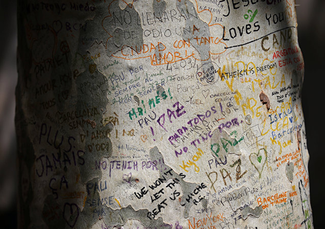 Las palabras del apoyo tras los atentados en Cataluña (imagen referencial)