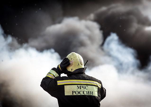 El bombero ruso (archivo)