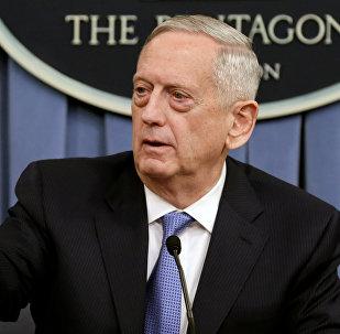 James Mattis, secretario de Defensa de EEUU (archivo)