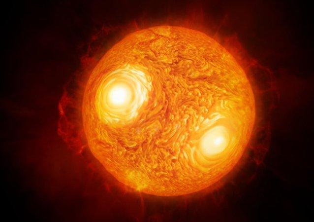 Antares, visto por el observatorio ESO