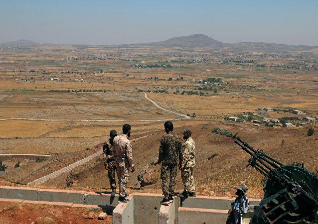 Combatientes del Ejército Libre Sirio