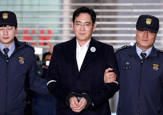 Lee Jae-yong, el vicepresidente de Samsung Electronics (archivo)