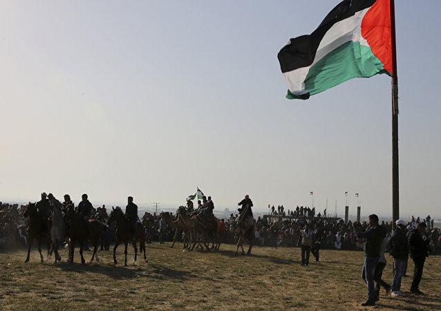 Unos beduinos (archivo)
