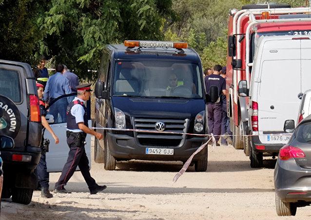 Policía de España en Alcanar