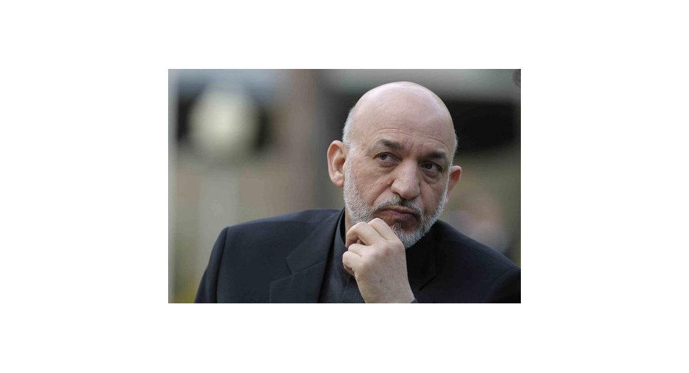 El presidente afgano Hamid Karzai