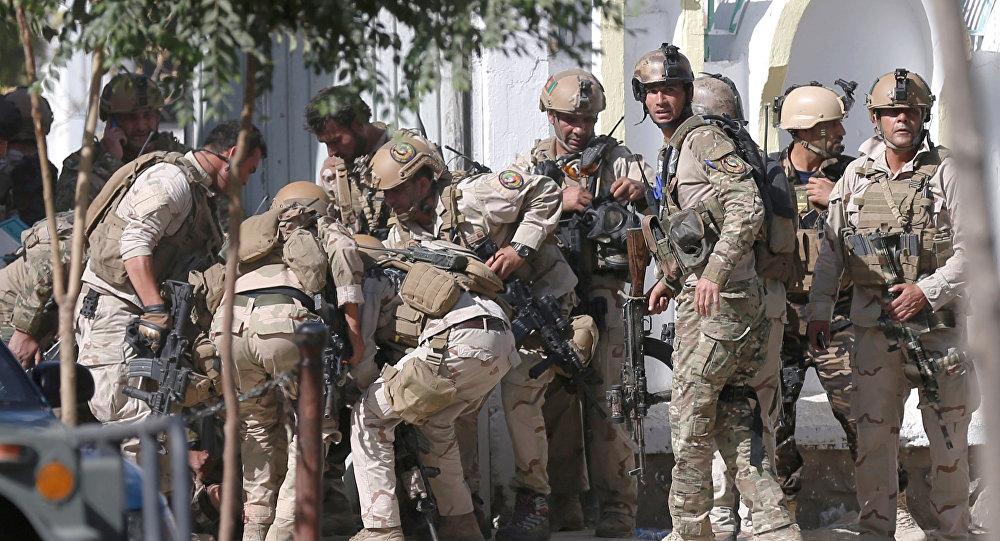 La Policía de Afganistán (archivo)
