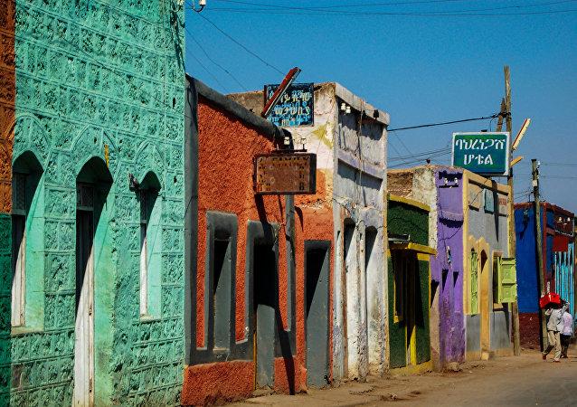 La calle en Etiopía (imagen referencial)