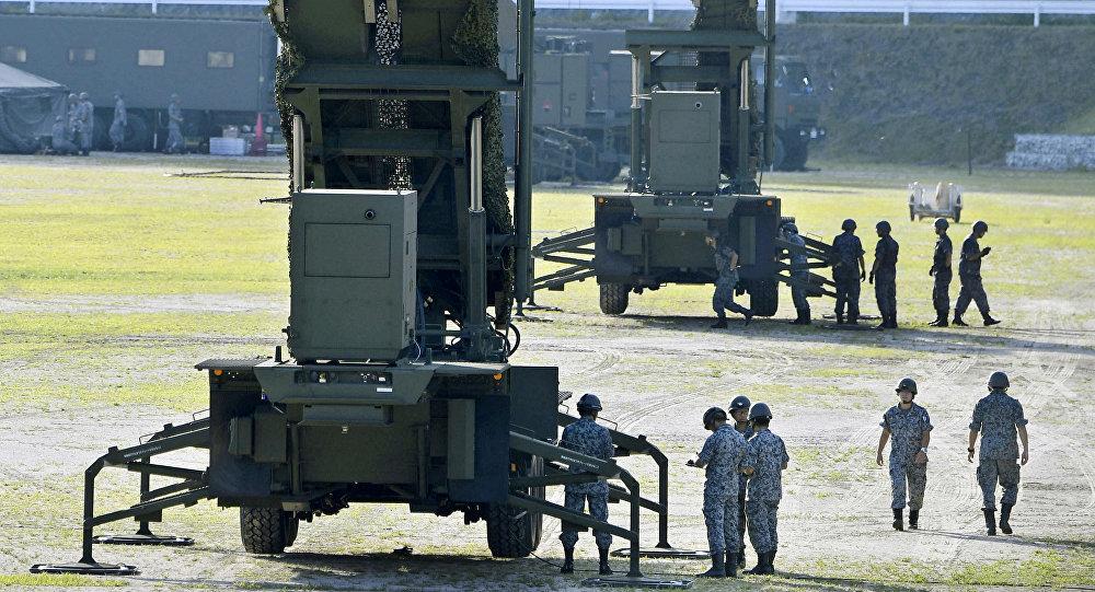 Los sistemas Patriot PAC-3 en Japón (archivo)