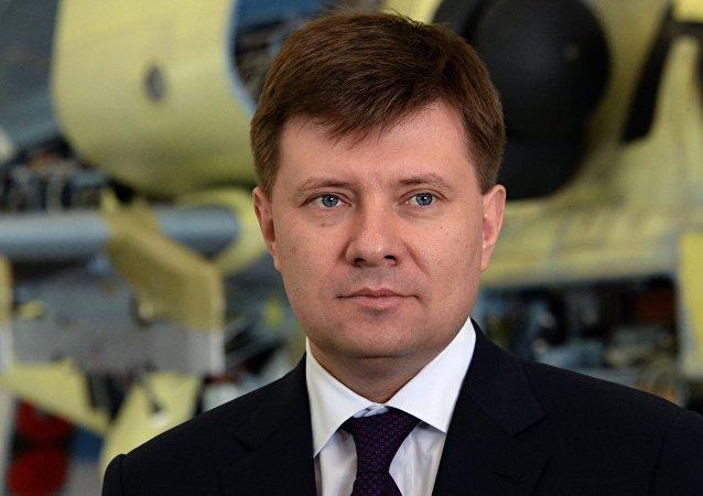 Andréi Boguinski, director general de Russian Helicopters