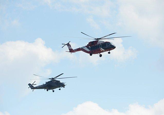Helicóptero Mi-38-2 (archivo)