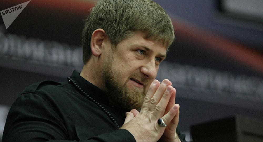 El líder de la República de Chechenia, Ramzán Kadírov