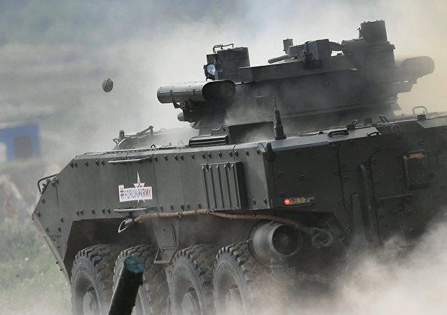 Vehículo blindado, imágen referencial