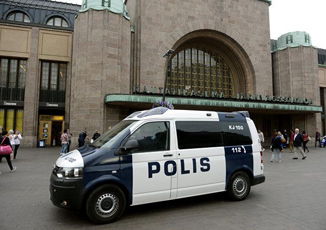 La policía de Finlandia