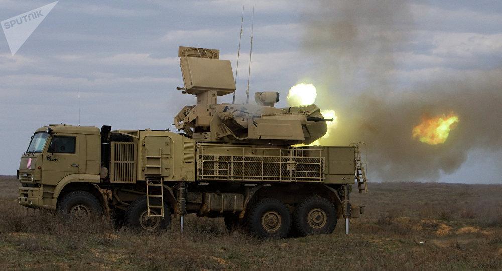 Pantsir-S1, sistema de defensa antiaérea de autopropulsión con base en tierra