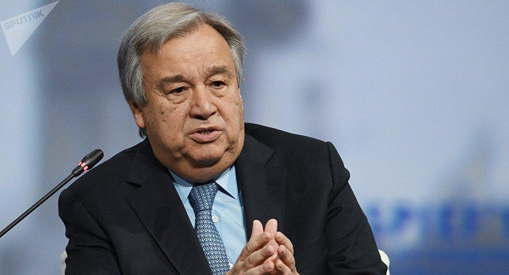 Antonio Guterres, el secretario general de la ONU (archivo)