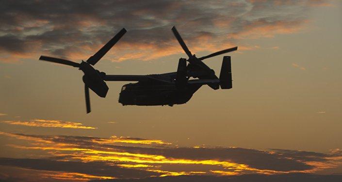 Un convertiplano estadounidense Osprey (imagen referencial)