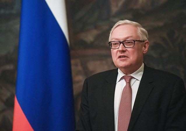 Vicecanciller ruso Serguéi Riabkov (archivo)