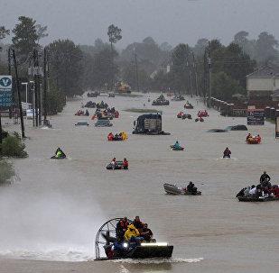 Inundación en Texas (archivo)