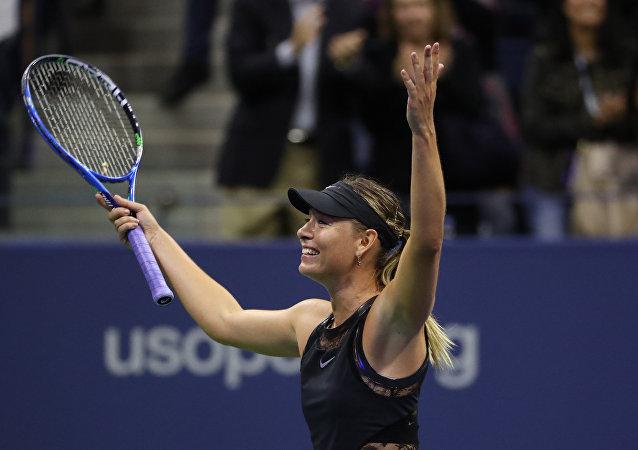 María Sharápova, tenista rusa