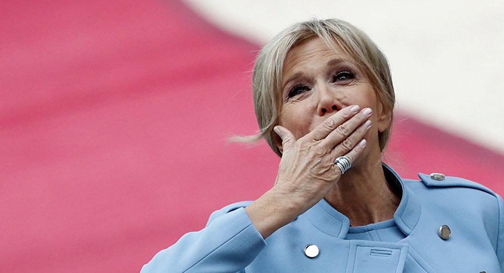 Brigitte Macron en el Palacio Elíseo