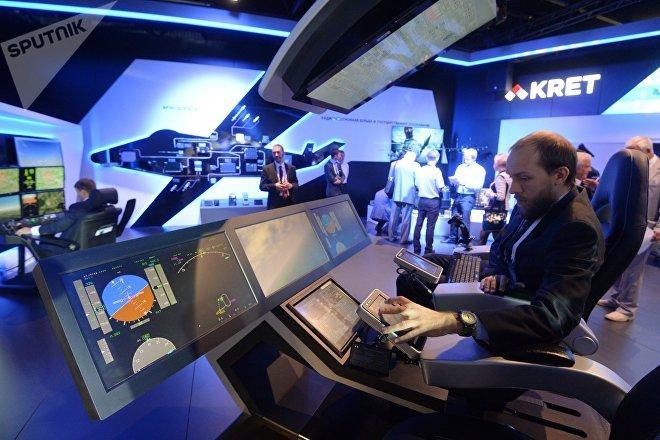 El Consorcio de Tecnologías Radioelectrónicas (KRET) presenta sus sistemas en el Salón Aeroespacial Internacional MAKS