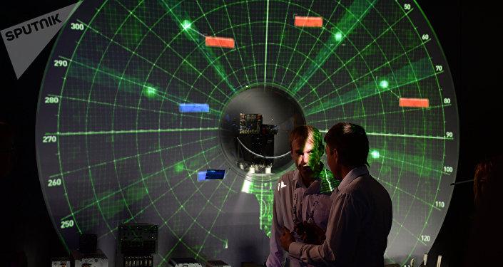 Radiolocalizador mostrado en el Salón Aeroespacial Internacional MAKS
