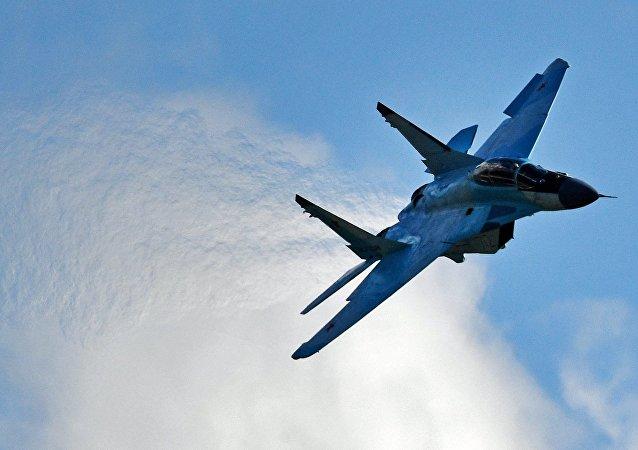 Un MiG-35 ruso