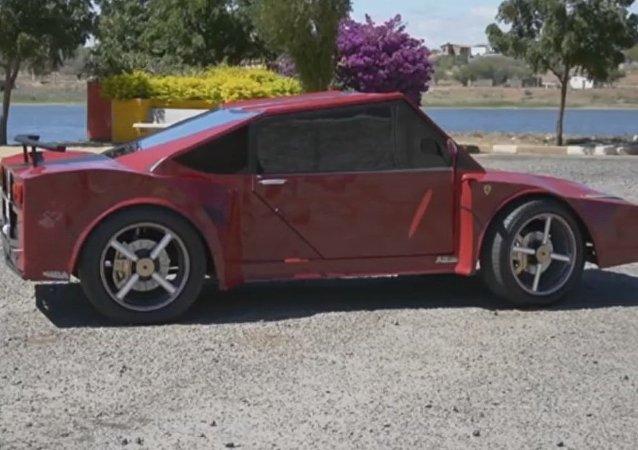 Ferrari versión casera