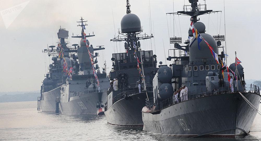 Flota rusa del Báltico (archivo)